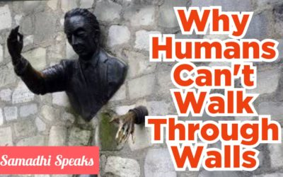 Why Humans Can't Walk Through Walls